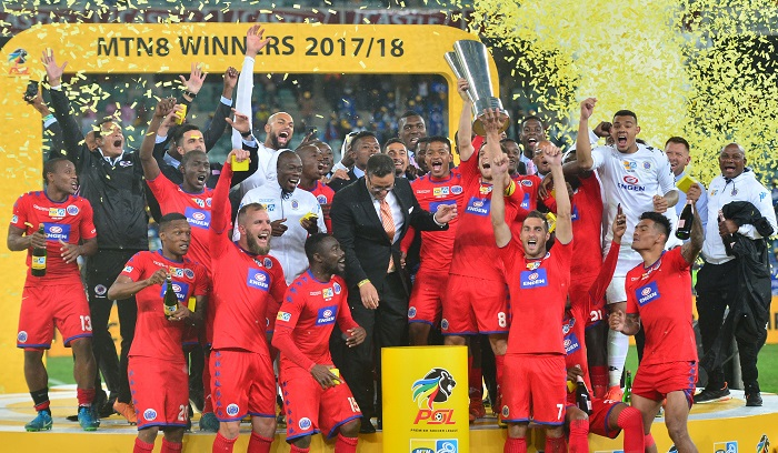 Supersport United winners of the 2017 MTN8