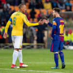 Wayne Arendse and Lionel Messi