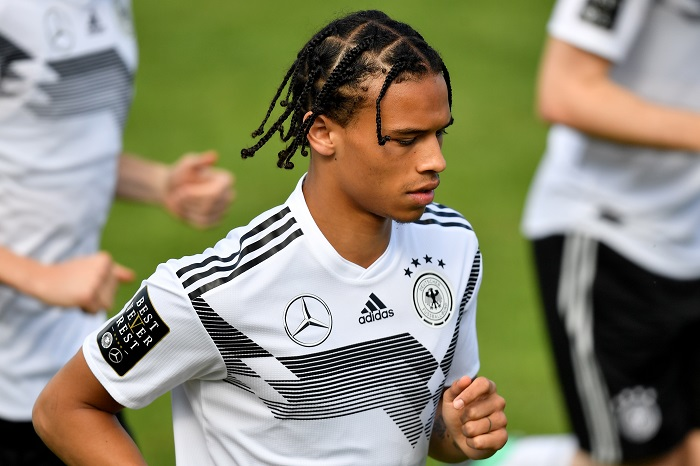 new style 97dd8 0bf3e Why have Germany left Sane out of the World Cup?
