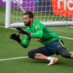 Brazil's goalkeeper Alisson