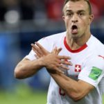 Switzerland's midfielder Xherdan Shaqiri