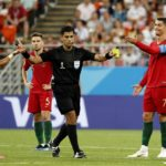Cristiano Ronaldo was involved in two VAR incidents against Iran.