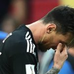 Aguero backs Messi after missed penalty