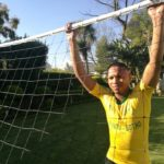 Andile Jali of Mamelodi Sundowns.