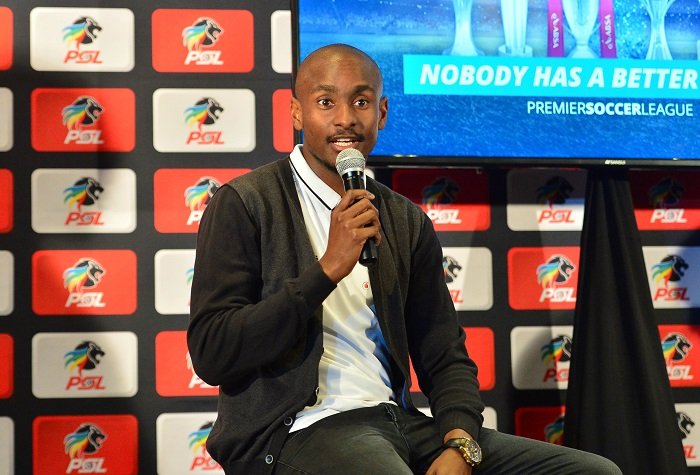 Rhulani Mokwena, assistant coach of Orlando Pirates.