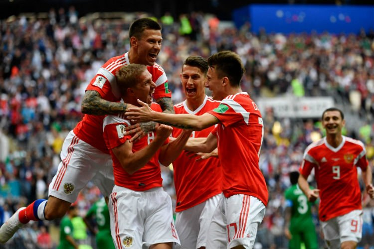 Highlights: Hosts Russia thrash Saudi Arabia in WC opener