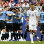 Smolnikov sees red as Uruguay thrash Russia
