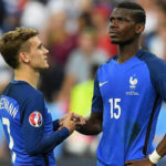 Griezmann and Paul Pogba