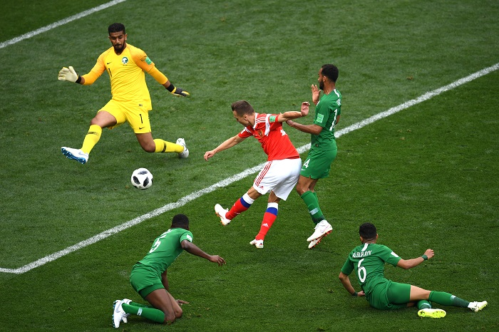 Russia v Saudi Arabia 2018 World Cup