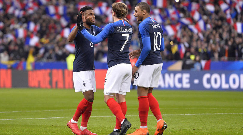 Mbappe lauds teammate Griezmann ahead of the WC