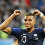Kylian Mbappe of France