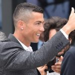 New Juventus player Cristiano Ronaldo.