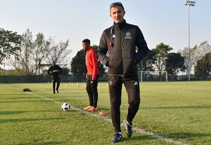 Orlando Pirates head coach Milutin Sredojevic.