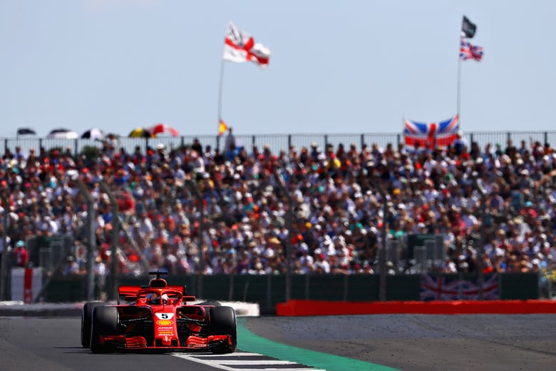 Vettel wins thrilling British GP