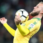 Jeremy Brockie of Mamelodi Sundowns