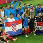 Croatia celebrate England win