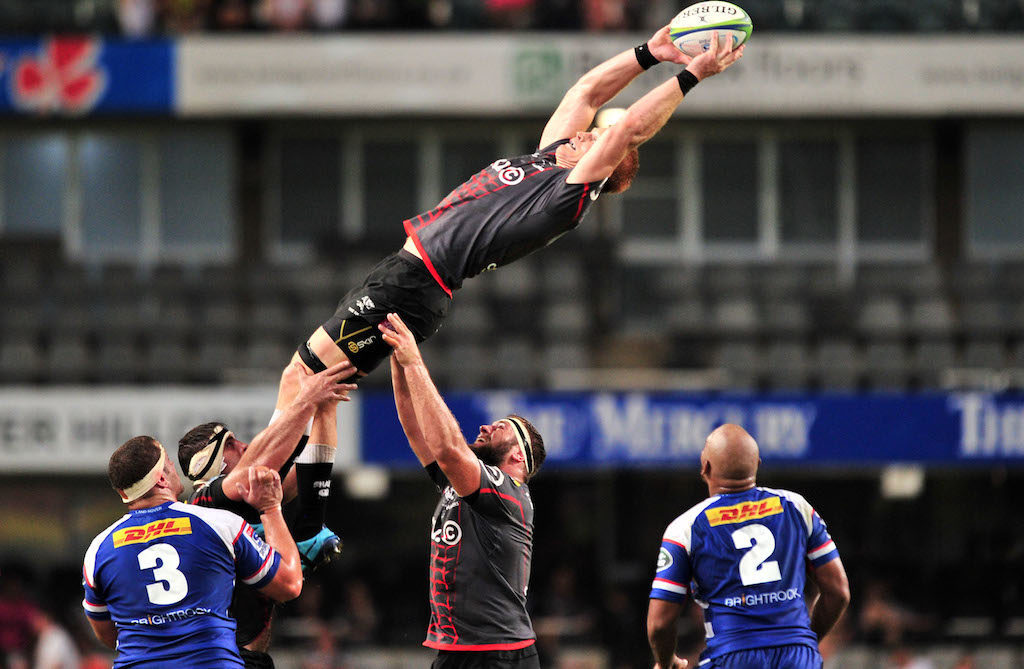 Philip van der Walt collects a lineout ball