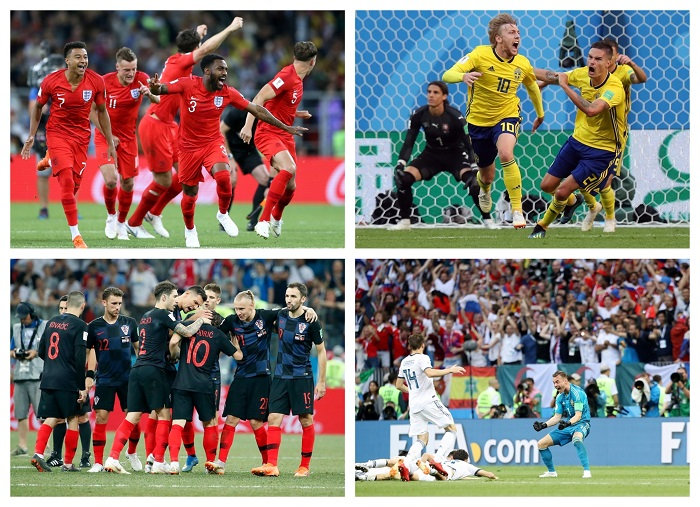 World Cup underdogs.