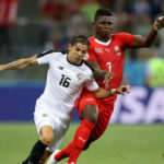 Switzerland forward Breel Embolo.