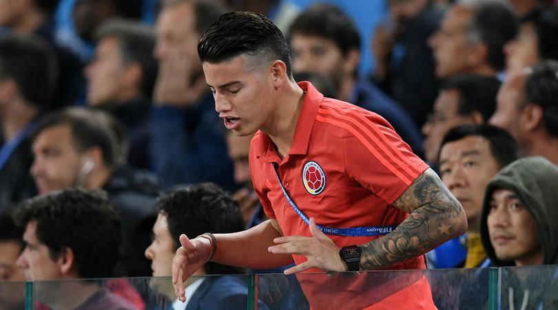 Colombia star James Rodriguez