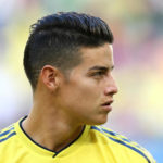 Colombia star, James Rodriguez.