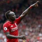 adio Mane's brace helped Liverpool to a win in their Premier League.