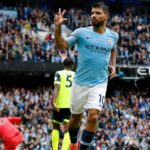 Aguero nets hat-trick as City run riot over Huddersfield