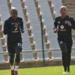 Pirates duo return to training