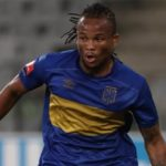 Cape Town City left back Edmilson Dove