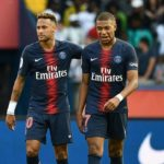 Neymar and Mbappe