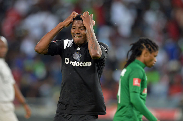 Orlando Pirates striker Thamsanqa Gabuza