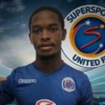 SuperSport land Ntshangase signature