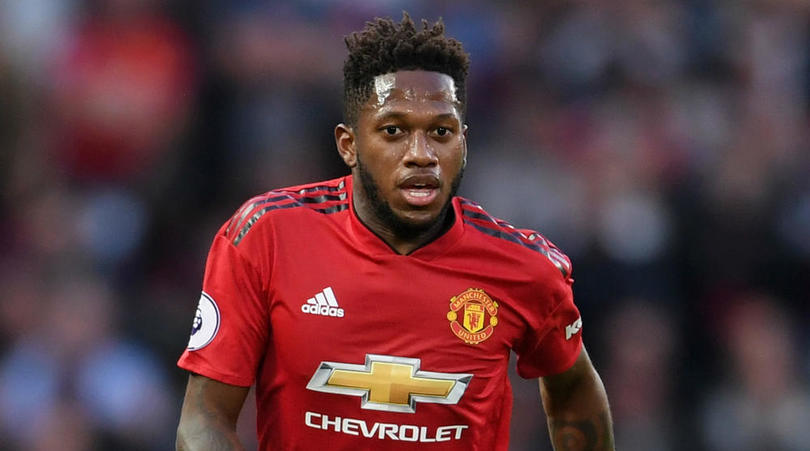 Manchester United midfielder Fred