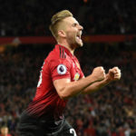 Manchester United left back Luke Shaw