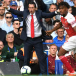 Unai Emery of Arsenal