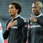 Former Orlando Pirates duo Issa Sarr and Tendai Ndoro.