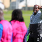 Benni McCarthy issues instructions to his players