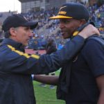 Giovanni Solinas and Lebogang Manyama of Kaizer Chiefs.