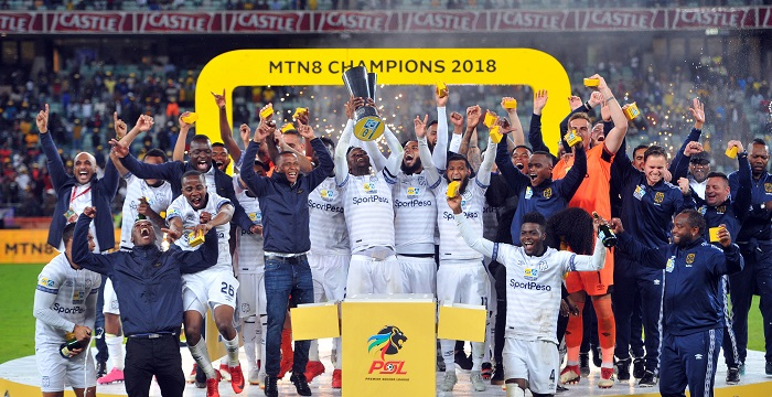 Cape Town City 2018 MTN8 Champions.