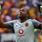 Itumeleng Khune of Kaizer Chiefs.