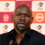 Steve Komphela, coach of Bloemfontein Celtic.