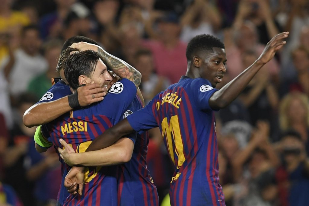 Hat-trick hero Messi guides Barca past PSV
