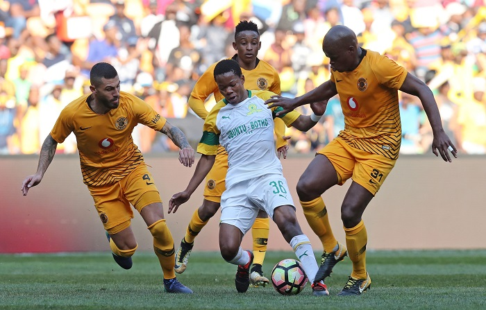 Daniel Cardoso against Sundowns