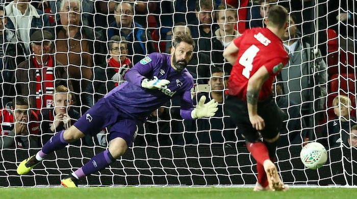 Man Utd dumped of out EFL Cup
