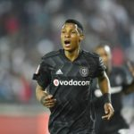 Orlando Pirates winger Vincent Pule