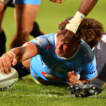 Hanro Liebenberg scores for the Blue Bulls