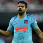 Diego Costa of Atletico Madrid.