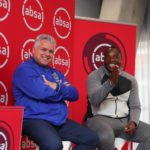 Cape Town City chairman John Comitis and coach Benni McCarthy