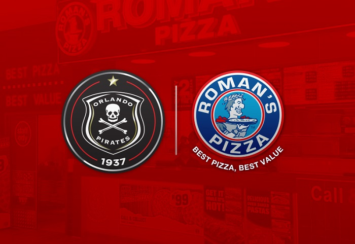 Orlando Pirates signs sponsorship deal with Romans Pizza