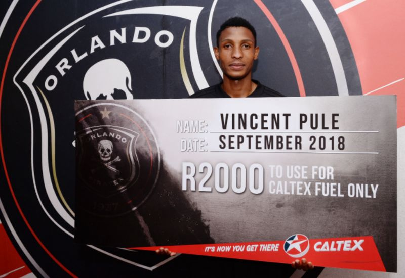 Pule bags Pirates Player, Goal of the Month award
